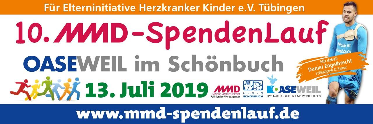 Anmeldung zum MMD-SpendenLAuf