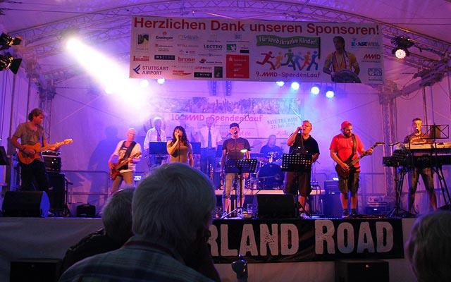 Band MMD-SpendenLauf