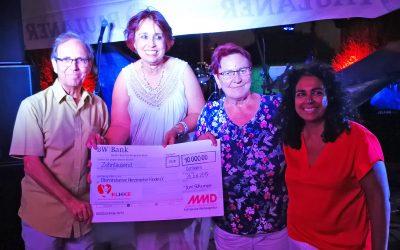 Der 10. MMD-SpendenLauf erbrachte 10.000 Euro für die Elterninitiative herzkranker Kinder e.V., Tübingen