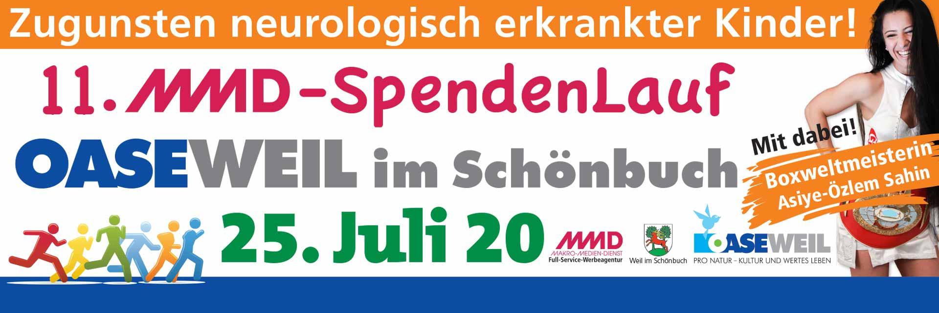 Anmeldung zum 11.MMD-Spendenlauf